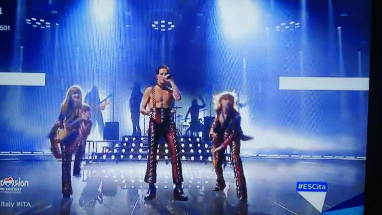 I Maneskin all'Eurovision Song Contest