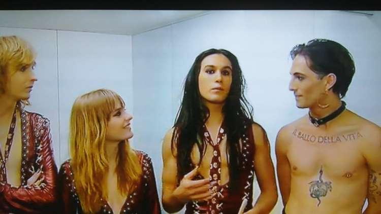 Intervista ai Maneskin all'Eurovision Song Contest