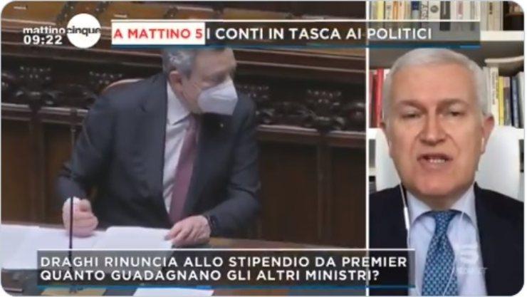 Maurizio Belpietro Mattino 5