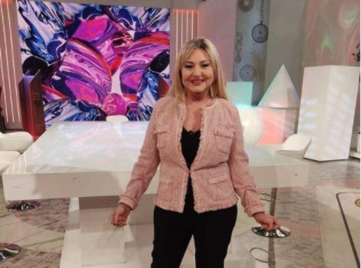 Monica Setta, conduttrice di Rai Uno