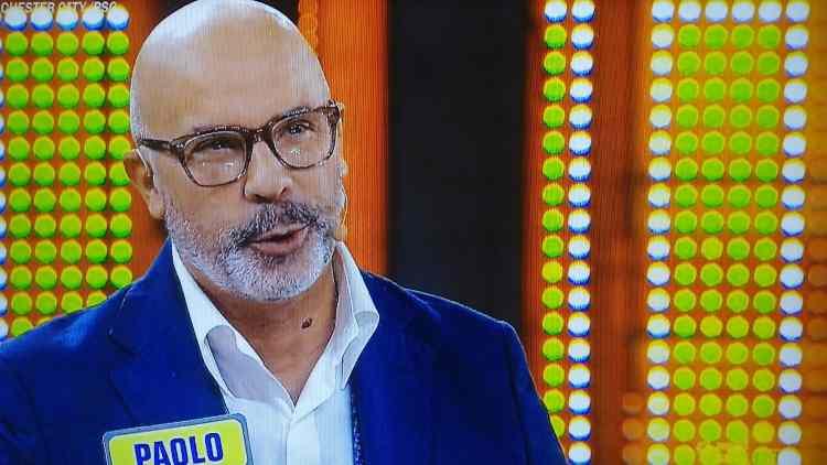 Paolo, concorrente di Avanti un Altro
