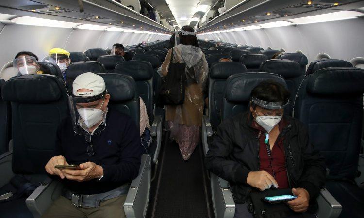 Passeggeri di un aereo