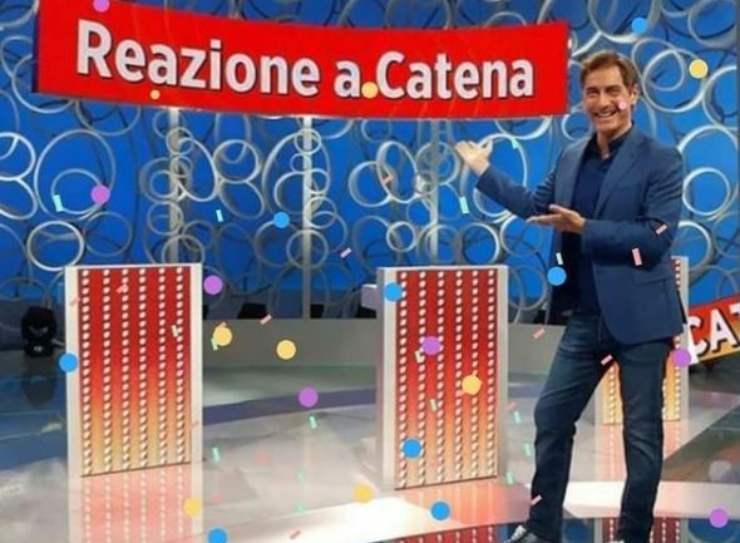 Marco Liorni conduce Reazione a Catena