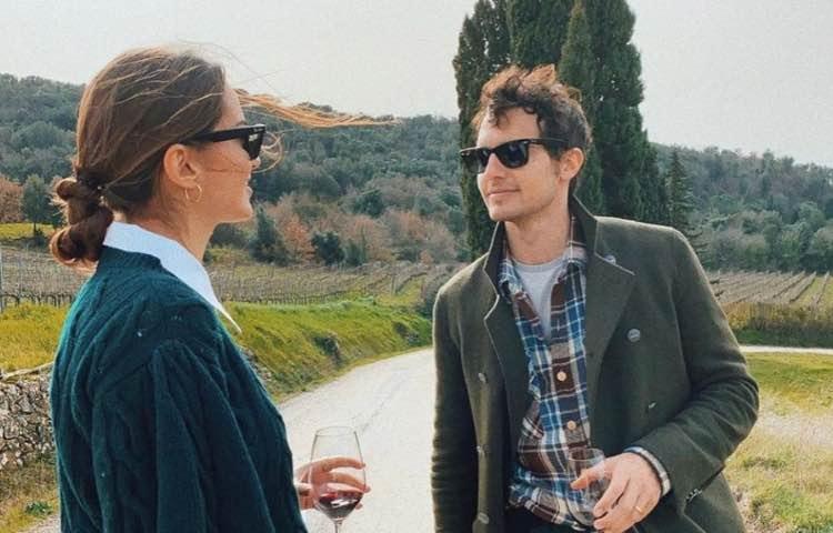 Riccardo Pozzoli e la moglie Gabrielle