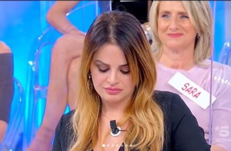 Roberta triste per Riccardo