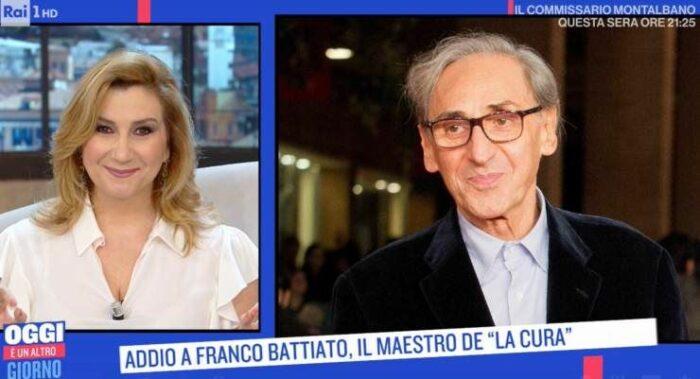 Serena Bortone parla di Battiato