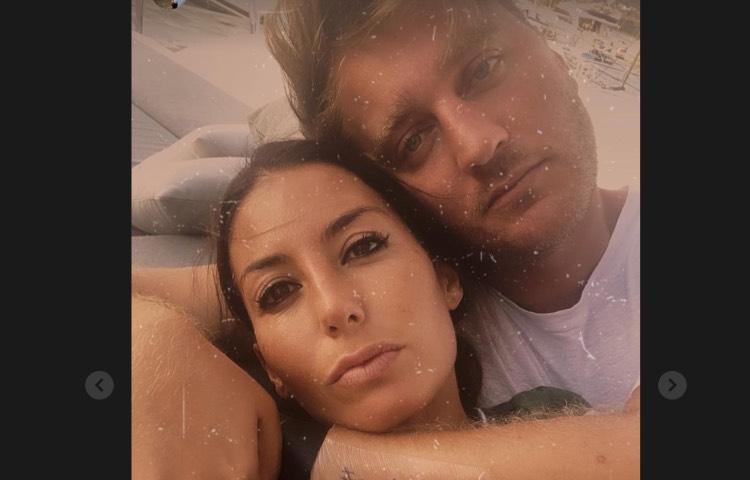 Stefano Coletti ed Elisabetta Gregoraci
