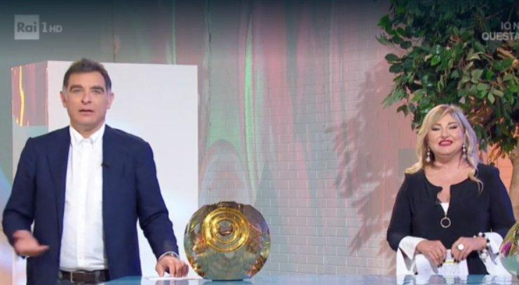 Tiberio Timperi e Monica Setta in diretta