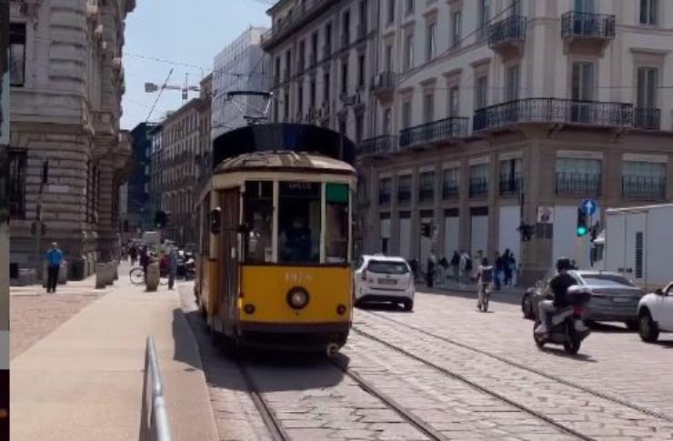 Tram della città di Milano