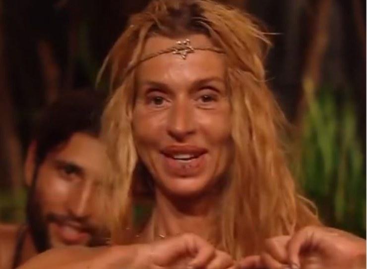 Valeria a Supervivientes
