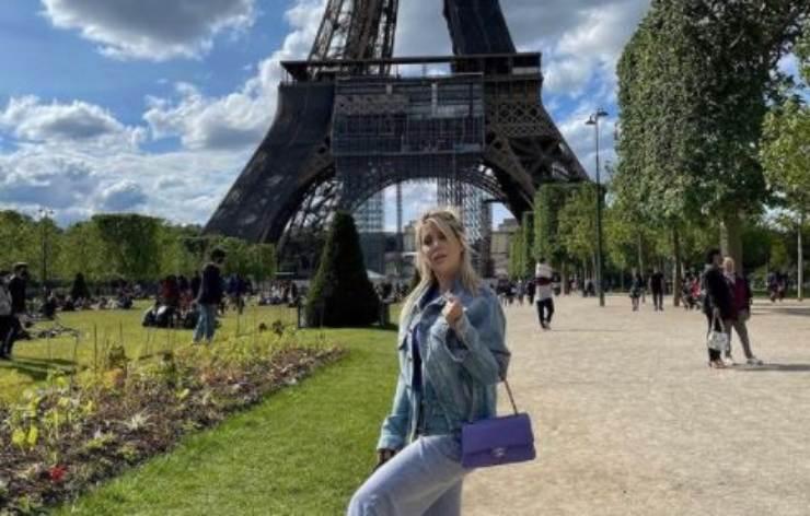 Wanda in giro per Parigi