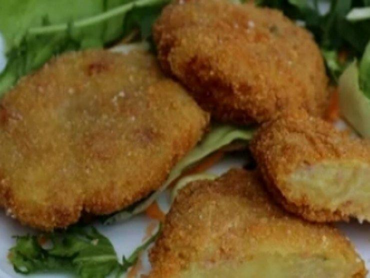 cotoletta fritta di patate