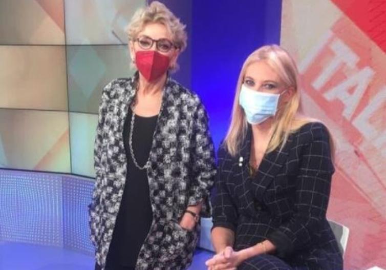 Enrica Bonaccorti ed Eleonora Daniele