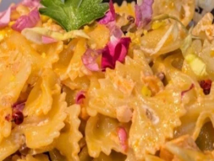 la ricetta pasta rosa