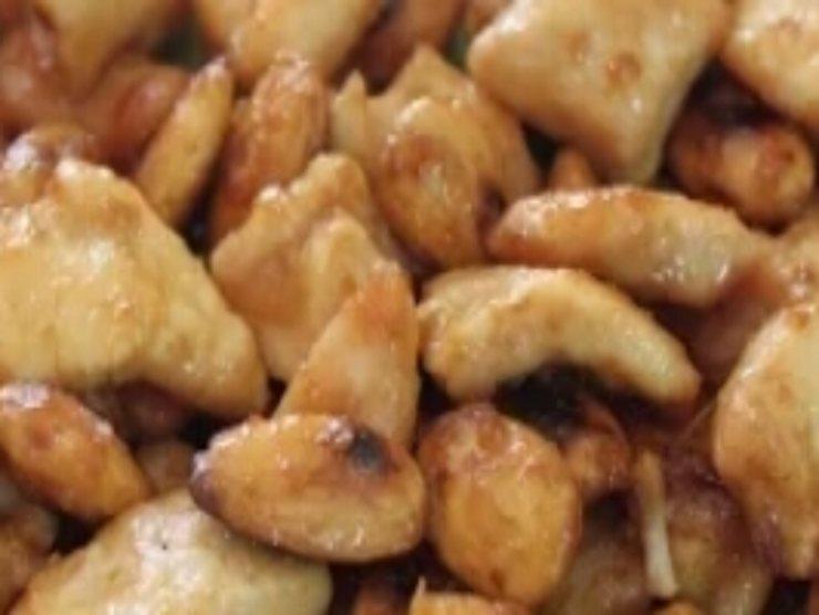 bocconcini pollo alle mandorle