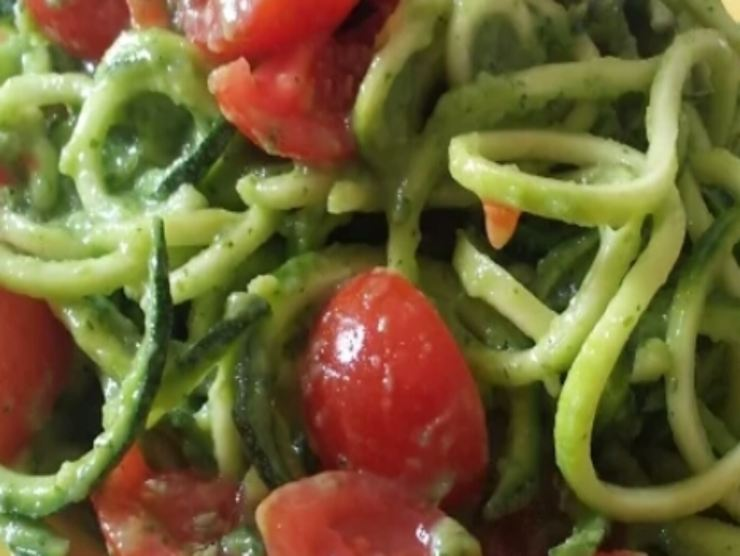 spaghetti alternativi di zucchine