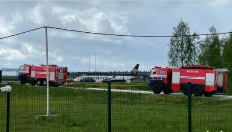 Aereo Ryanair dirottato a Minsk