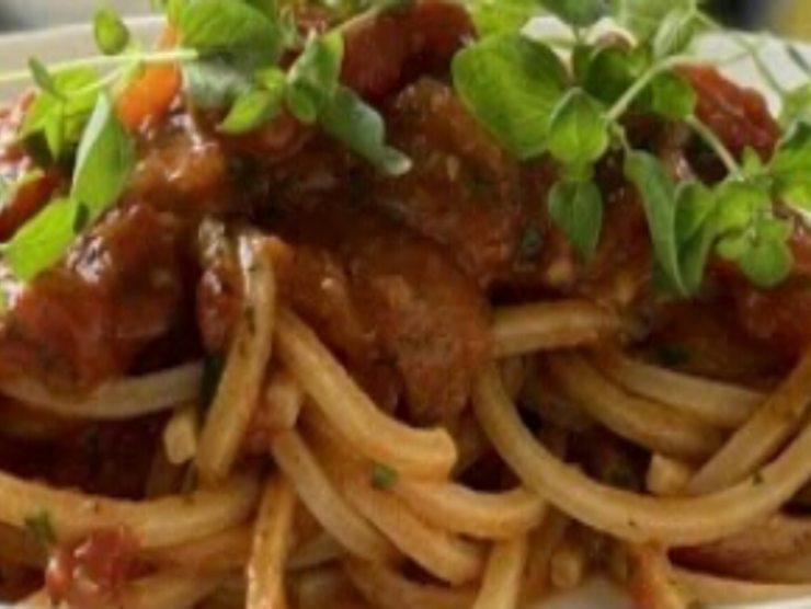 ricetta veloce spaghetti marinara