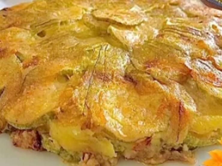 tortino zucchine e patate
