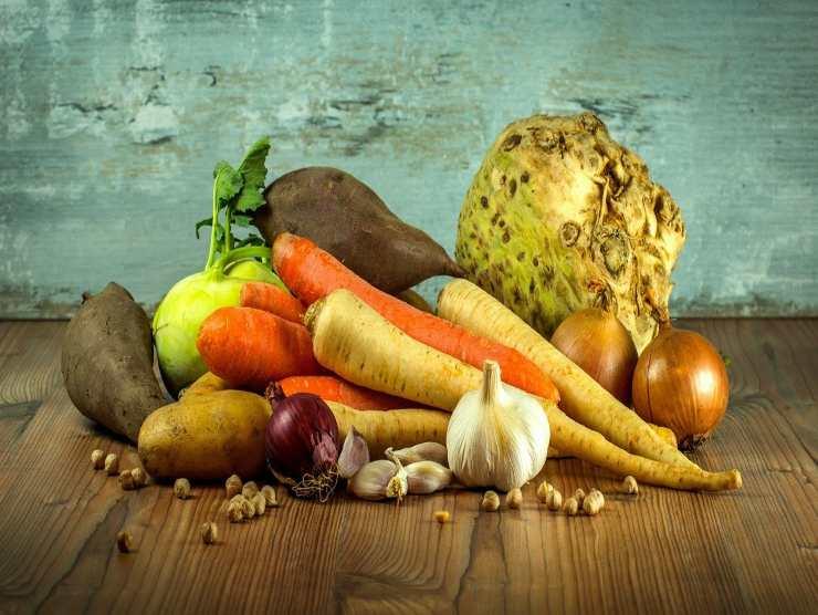 verdure miste per frittelle