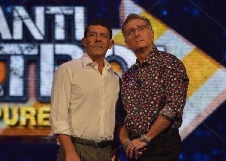 Paolo Bonolis e Luca Laurenti