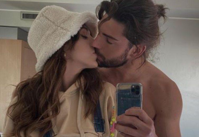 Cecilia Rodriguez e Ignazio Moser bacio