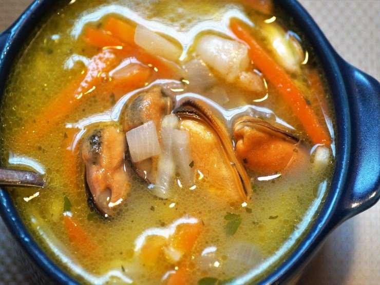 zuppa frutti di mare
