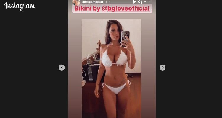 Alessia Macari bikini