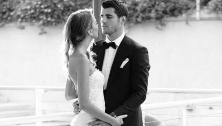 Alice ed Alvaro nel giorno del loro matrimonio
