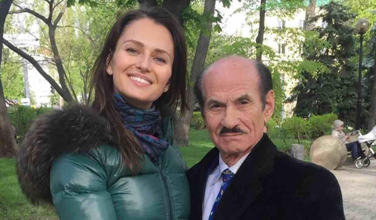 Anna Safroncik e il nonno