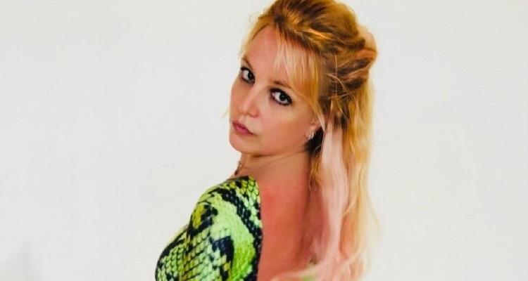 Britney Spears in posa