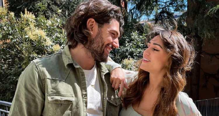 Cecilia Rodriguez e Ignazio Moser sorrisi