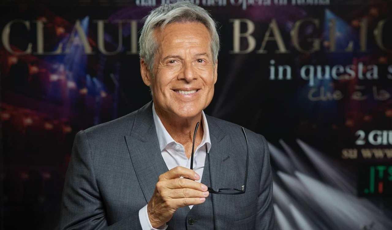 Claudio Baglioni in posa