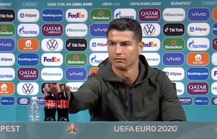 Cristiano Ronaldo in conferenza