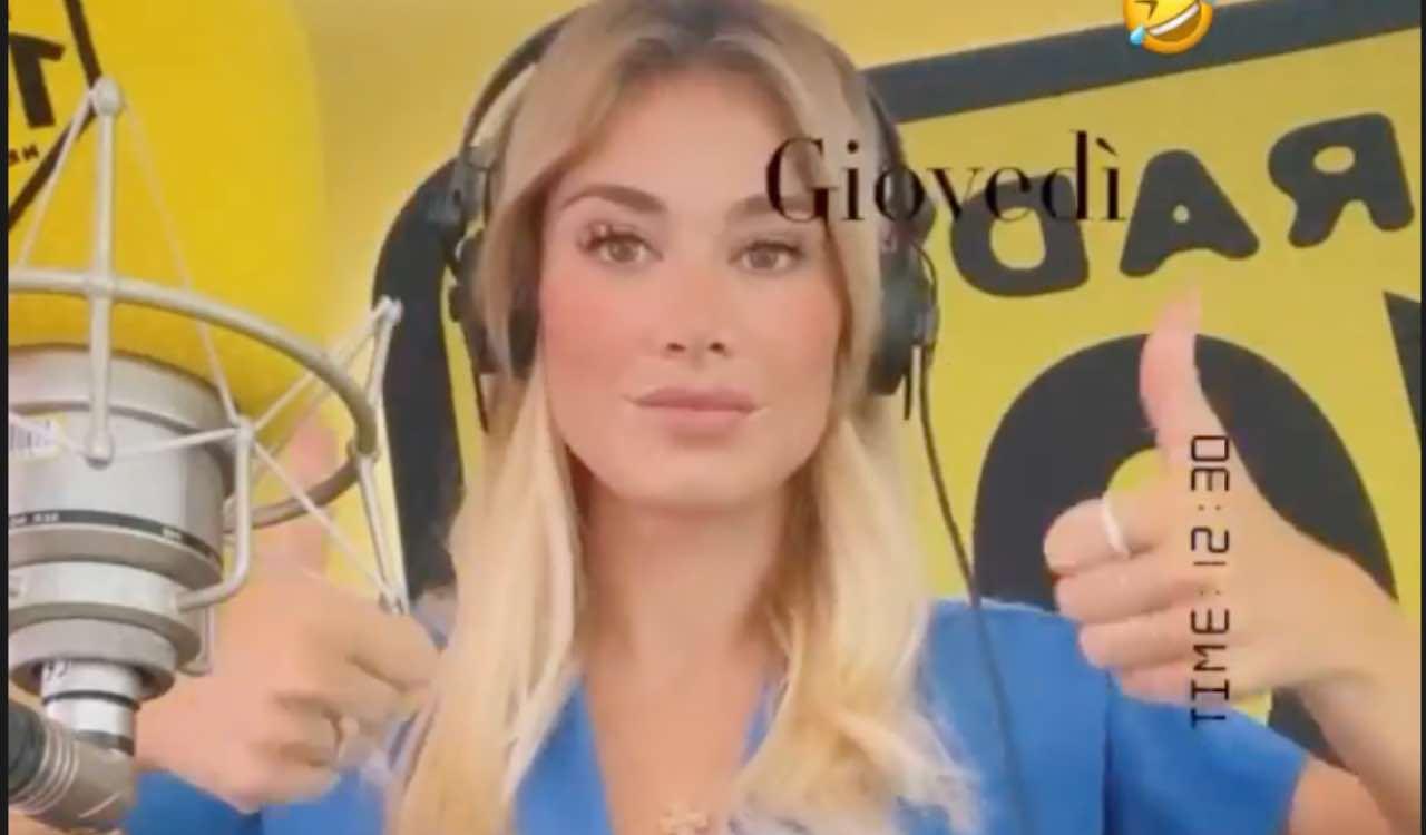 Diletta Leotta in radio