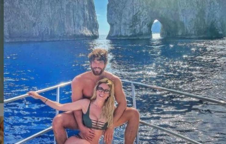 Diletta e Can a Capri