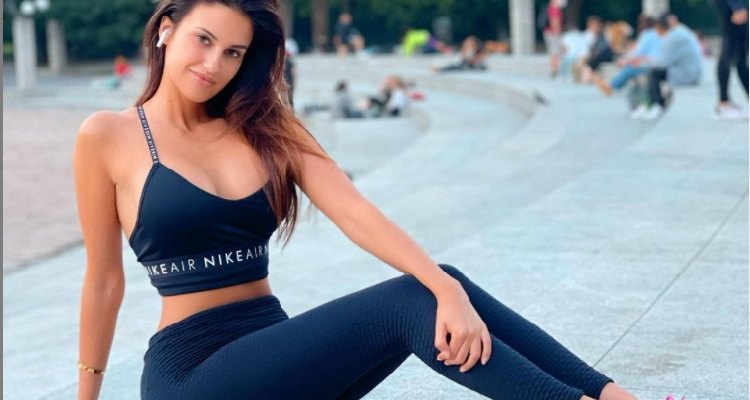 Eleonora Incardona allenamento
