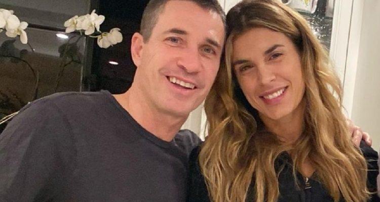 Elisabetta Canalis e Brian Perri sorrisi