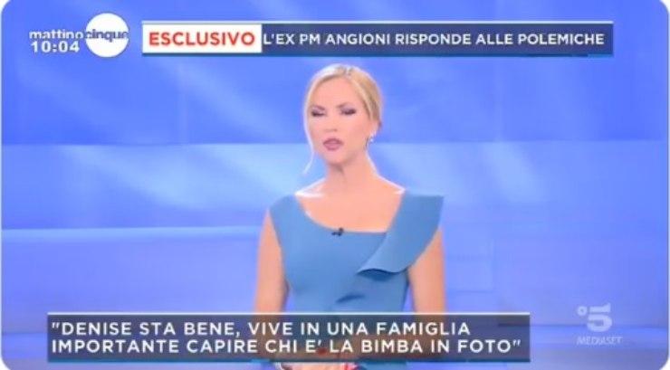 Federica Panicucci Caso Denise