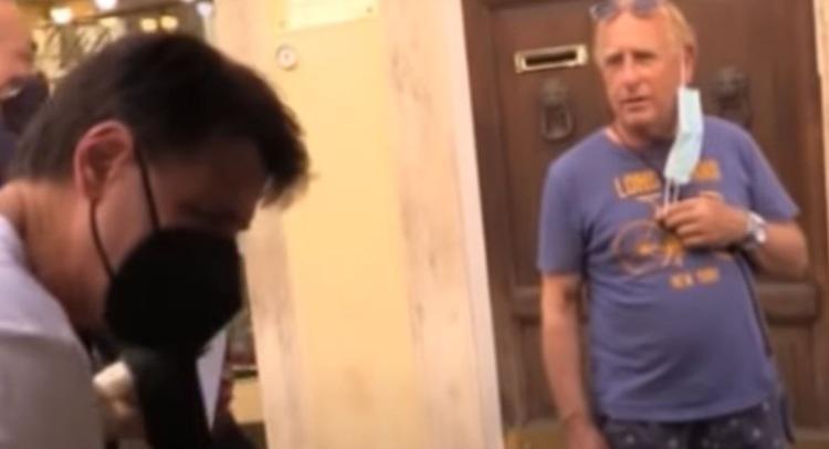 Giuseppe Conte Deriso Passante Video