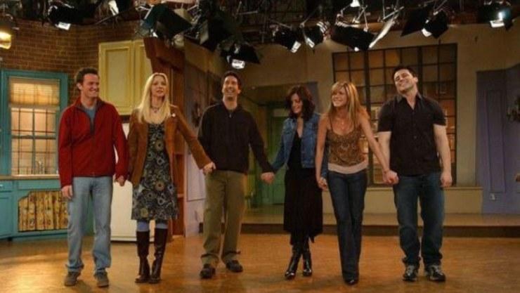 Gli attori di Friends