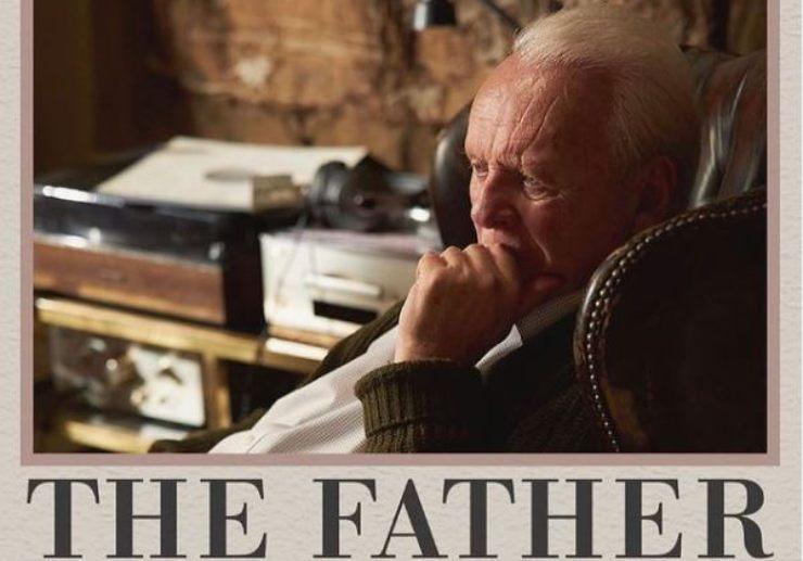 Hopkins nella copertina del film premio Oscar