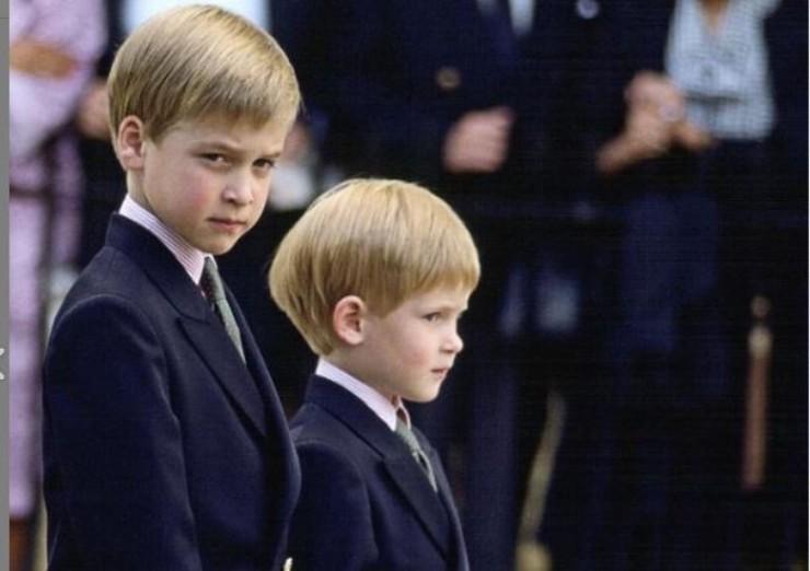 I due fratelli da piccoli