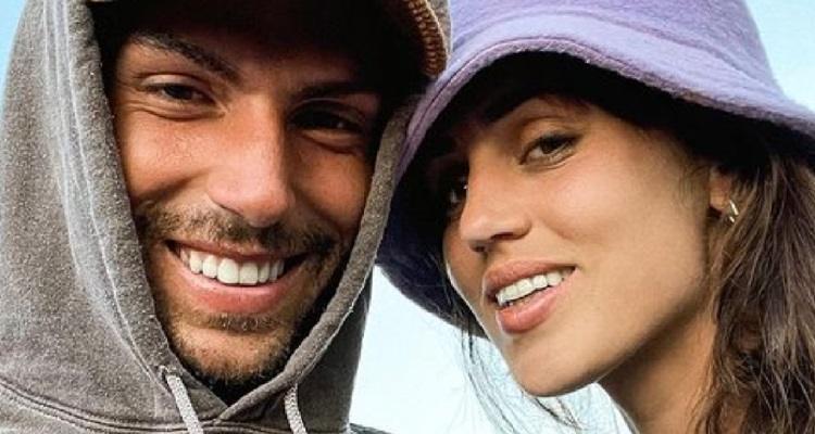 Ignazio Moser e Cecilia Rodriguez primo piano