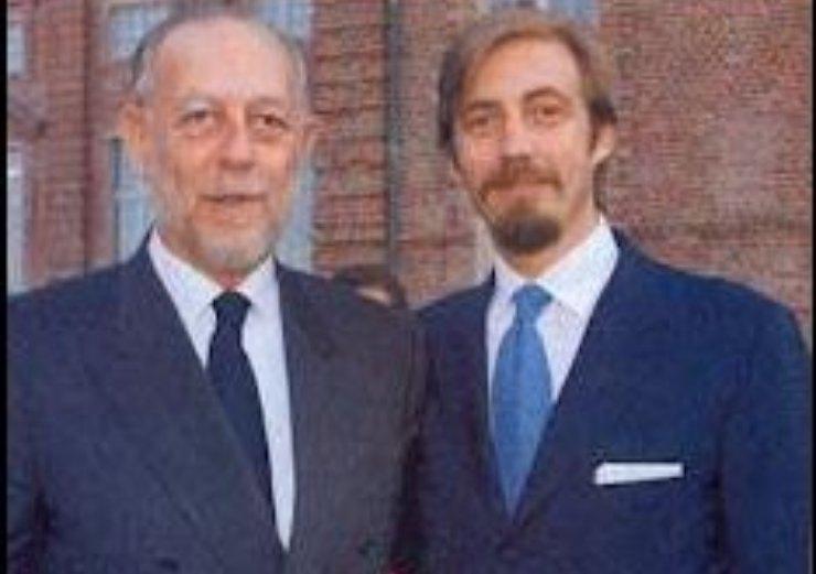 Il Duca e suo figlio Aimone