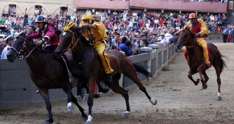 Il Palio di Siena evento annullato