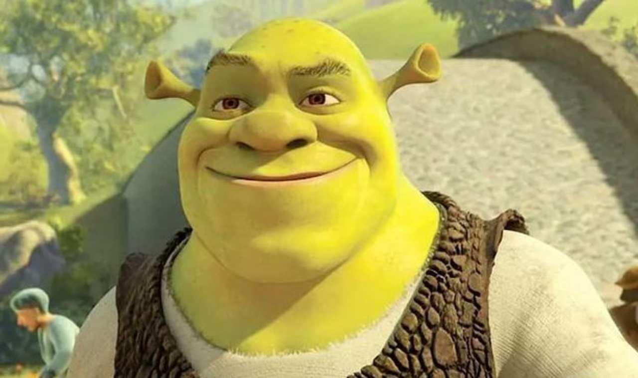 Il cartone Shrek