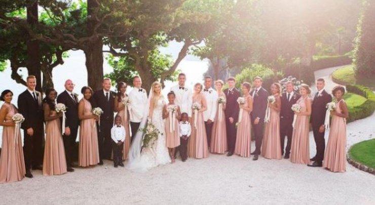 Il matrimonio sul Lago di Como
