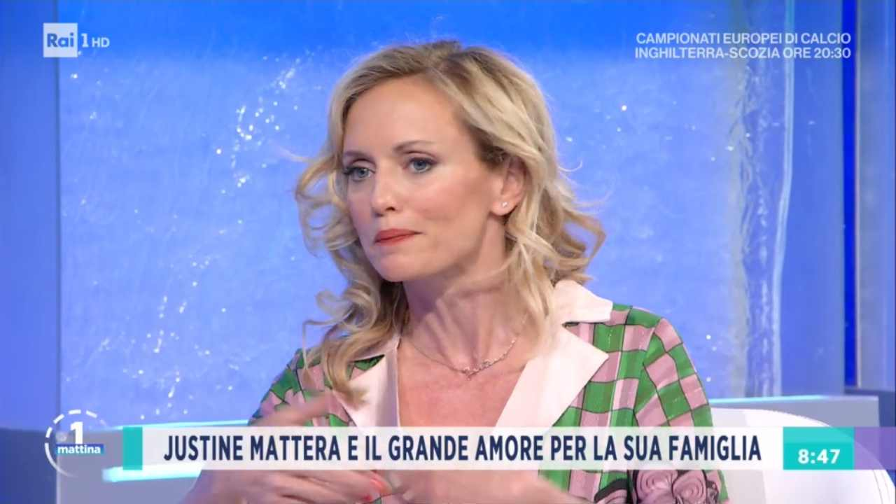 Justine Mattera Unomattina