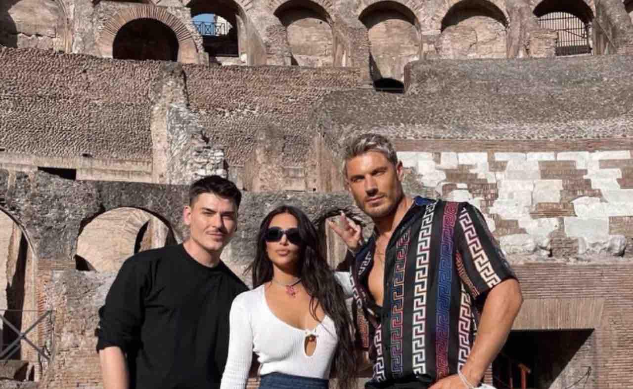 Kim Kardashian a Roma